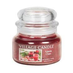 Village Candle Świeca w szklanym słoju Świeca wiejska, Czas Bożego Narodzenia, 312 g