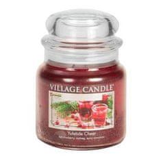 Village Candle Świeca w szklanym słoju Świeca wiejska, Czas Bożego Narodzenia, 454 g