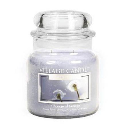 Village Candle Sveča v steklenem kozarcu Vaška sveča, Tintenroller Frixion kroglica