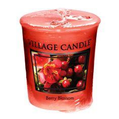 Village Candle Falusi gyertya illatú gyertya, Piros virágok, 57 g