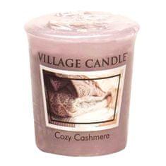 Village Candle Falusi gyertya illatú gyertya, Cashmere simogatás, 57 g