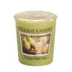 Village Candle Falusi gyertya illatú gyertya, Körte pezsgővel, 57 g