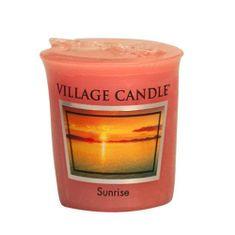 Village Candle Falusi gyertya illatú gyertya, Napkelte, 57 g