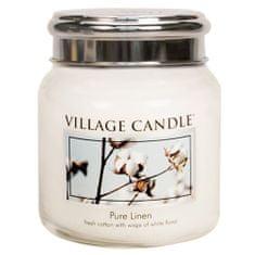 Village Candle Sviečka v sklenenej dóze Village Candle, Čistá bielizeň, 454 g