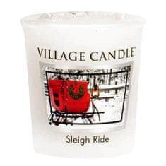 Village Candle Falusi gyertya illatú gyertya, Téli út, 57 g