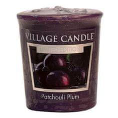 Village Candle Falusi gyertya illatú gyertya, Szilva és pacsuli, 57 g