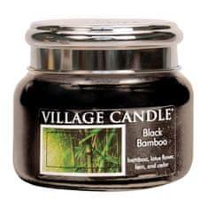 Village Candle Sviečka v sklenenej dóze , Čierny bambus, 312 g