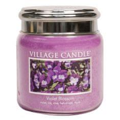 Village Candle Sviečka v sklenenej dóze , Fialky, 454 g
