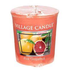Village Candle Falusi gyertya illatú gyertya, Rózsaszín grapefruit, 57 g