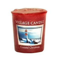 Village Candle Falusi gyertya illatú gyertya, Karácsony a kikötőben, 57 g