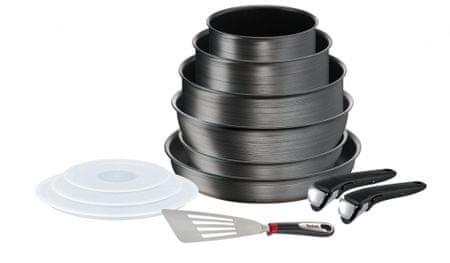 Tefal Set posuđa 12 komada Ingenio Titanium Fusion L6839002
