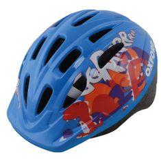 Oxford otroška kolesarska čelada GRRR, modra, S
