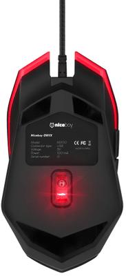 Herní myš Niceboy ORYX M200 drátová 6 400 DPI programovatelná tlačítka laserový snímač