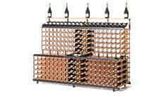 RAXI Patrový stojan na víno s kapacitou 360 lahví
