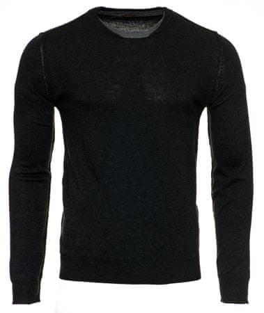 Trussardi Jeans férfi pulóver 52M00274-0F000418 M fekete