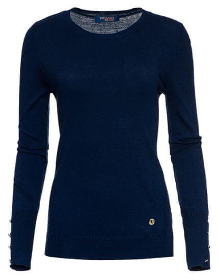 Trussardi Jeans dámský svetr 56M00239-0F000414 S tmavě modrá