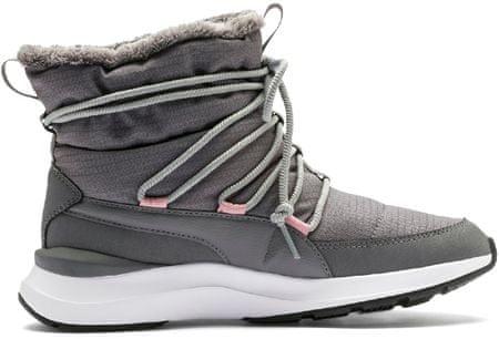 Puma Adela Winter Boot Steel Gray-Puma White 37