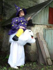 Nafoukanci Nafukovací kostým Čarodějnice a duch