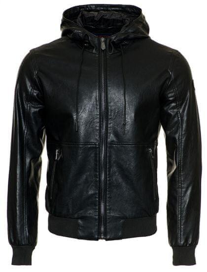 Trussardi Jeans pánska bunda 52S00354-1T002748 48 čierna