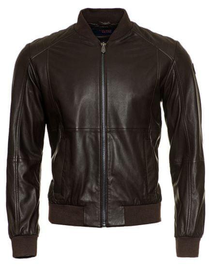 Trussardi Jeans pánská bunda 52S00364-2P000079 52 hnědá