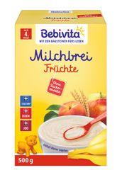Bebivita Mléčná kaše ovocná - 2 x 250g