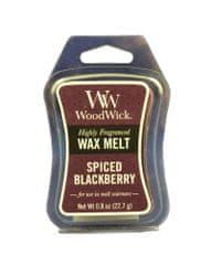 Woodwick dišeči vosek Spiced Blackberry, 22,7 g, 2 kosa