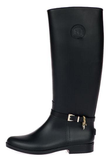 Trussardi Jeans dámské kozačky 79A00409-9Y099999 36 černá