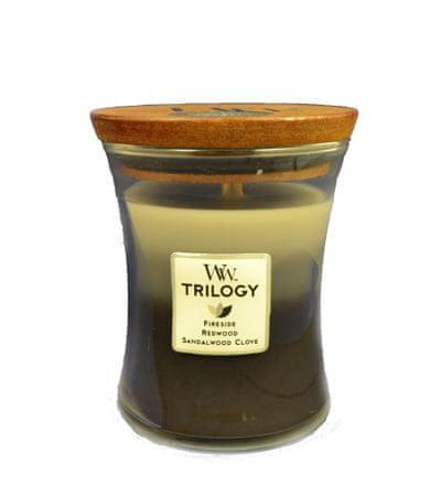 Woodwick Trilogy Warm Woods 275,0 gr közepes gyertya