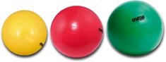 Spartan žoga za vadbo, rdeča, 95 cm