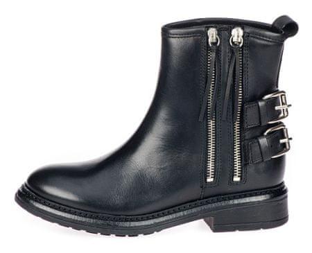 Trussardi Jeans dámska členková obuv 79A00414-9Y099999 36 čierna