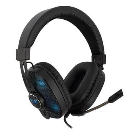 Ewent PL3321 Play Gaming slušalice, RGB, s mikrofonom