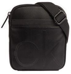 Calvin Klein Pánska crossbody taška Ck Up Mini Reporter Black