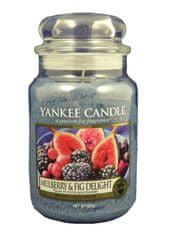 Yankee Candle dišeča sveča Classic Mulberry &Fig Delight, 623 g, velika