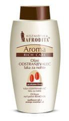 Kozmetika Afrodita Aroma Rich oljni odstranjevalec laka za nohte brez acetona, 125 ml