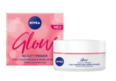 Nivea Alapozó bázis száraz és érzékeny bőrre Glow (Make-Up Base) 50 ml