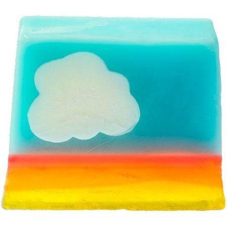 Bomb Cosmetics Kézzel készített glicerin szappan Mrs. Kék égbolt (Soap) 100 g
