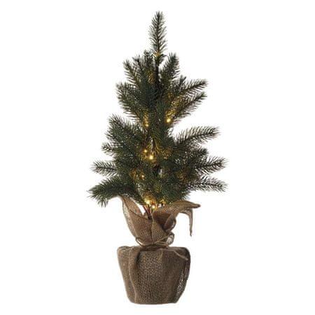 Emos LED vánoční stromek, 52cm, 2× AA, vnitřní, teplá bílá