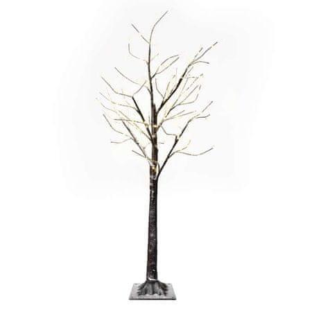 Emos LED zimsko drevo, 120 cm, 3× AA, notranje, topla bela, časovnik