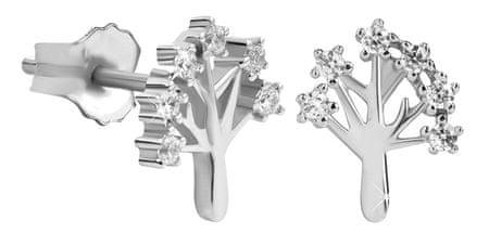 Silver Cat Finom ezüst fülbevalók az Life Tree SC319 ezüst 925/1000