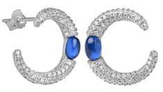 Silver Cat Divat ezüst fülbevalók cirkonnal SC308 ezüst 925/1000