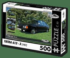 RETRO-AUTA© Puzzle č. 53 - TATRA 613 - 3 (1987) 500 dílků