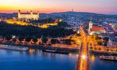 PuzzleMania Pohľad na hlavné mesto Bratislava 1 000 dielikov