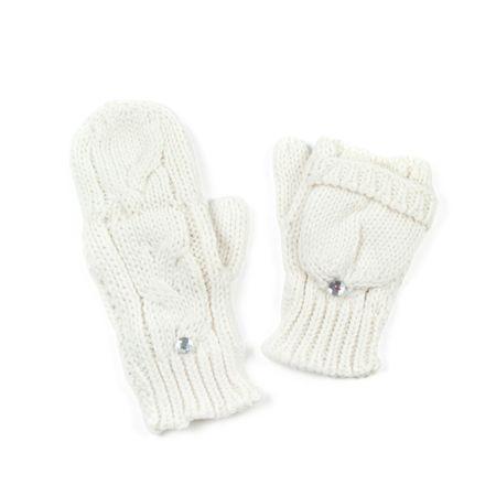 Art of Polo Bílé palcové rukavičky.
