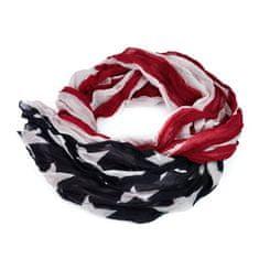 Art of Polo Šál - americká vlajka.