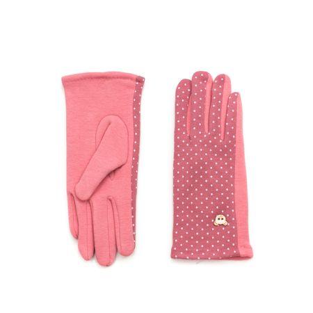 Art of Polo Hezké dámské rukavice růžové.