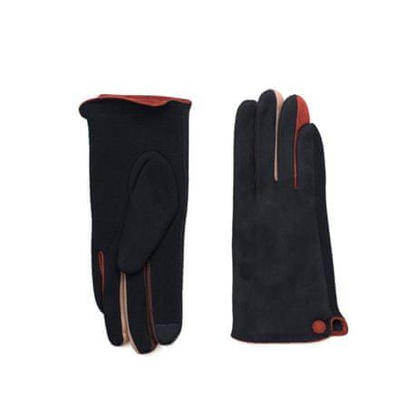 Art of Polo Černé módní rukavice.