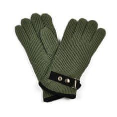 Art of Polo Pánské rukavice se zapínáním khaki