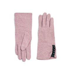 Art of Polo Dlouhé rukavice s knoflíky růžové.