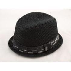 Art of Polo Černý klobouk ve stylu Trilby Fedora