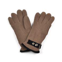 Art of Polo Pánské rukavice se zapínáním hnědé
